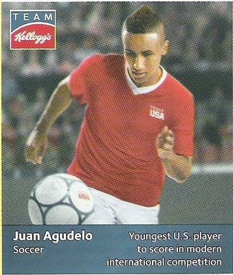Agudelo, Juan / USA Olympic Team (2012) / Soccer (Trading Card)