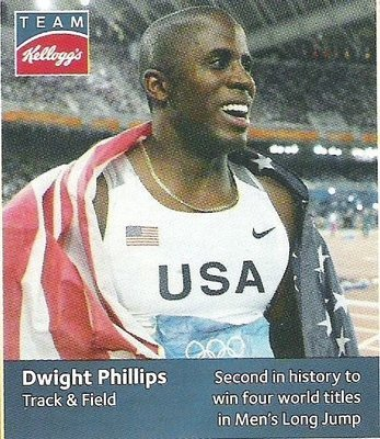 Phillips, Dwight / USA Olympic Team (2012) / Track + Field (Trading Card)