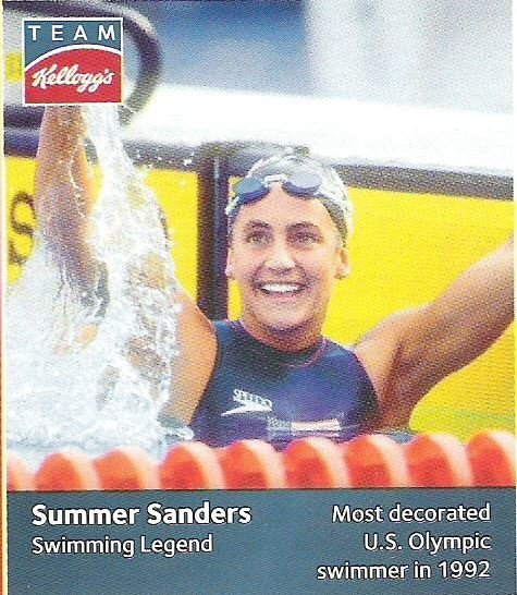 Sanders, Summer / USA Olympic Team (2012) / Swimming Legend (Trading Card)