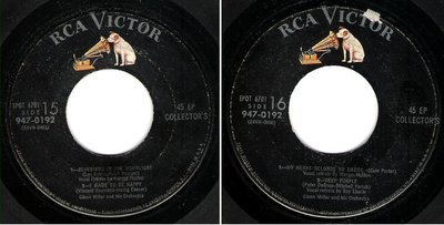 Miller, Glenn / Bluebirds in the Moonlight + 3 (1954) / RCA Victor 947-0192 (EP, 7