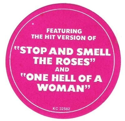 Davis, Mac / Stop and Smell the Roses / Columbia KC-32582 / Sticker (1974)