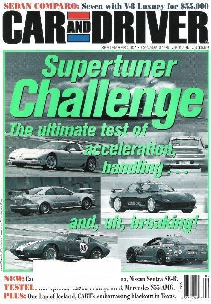 Car and Driver / Supertuner Challenge / September 2008 / Magazine