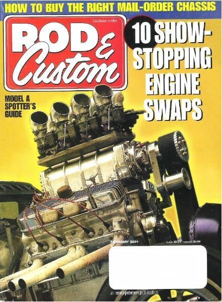 Rod + Custom / 10 Show-Stopping Engine Swaps / February 2001 | Magazine (2001)