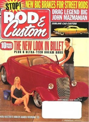 Rod + Custom / The New Look In Billet / August 2000 | Magazine (2000)