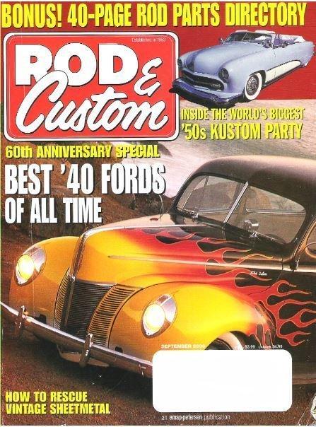 Rod + Custom / Best '40 Fords of All Time / September 2000 | Magazine (2000)