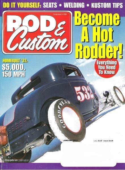 Rod + Custom / Become a Hot Rodder! / January 2001   Magazine (2001)
