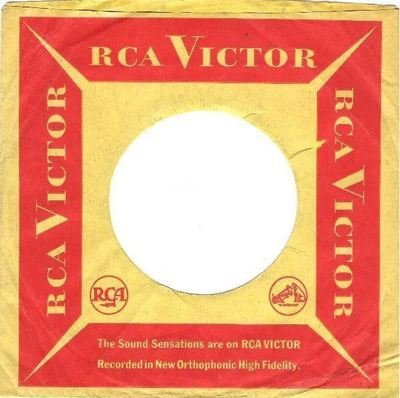 RCA Victor / The Sound Sensations are on RCA VICTOR / Tannish Yellow-Red (Record Company Sleeve, 7