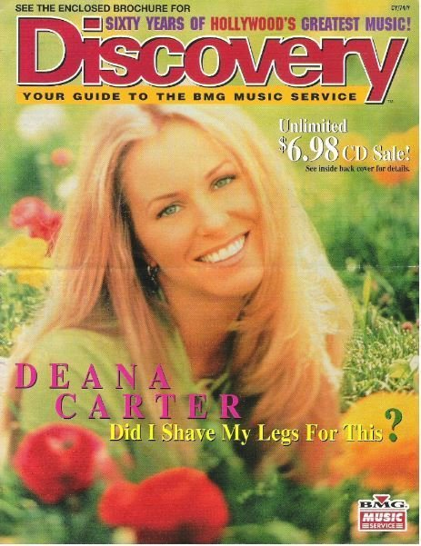 Carter, Deana / Discovery / Did I Shave My Legs for This? | Catalog (1997)