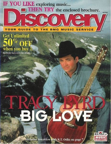 Byrd, Tracy / Discovery / Big Love | Catalog (1997)