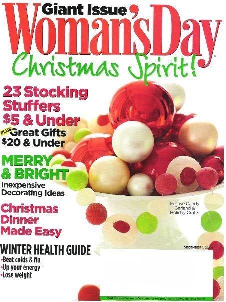 Woman's Day / Christmas Spirit! / December 1, 2009 | Magazine (2009)