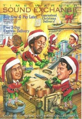 Time Warner Sound Exchange / Christmas 1996   Catalog (1996)