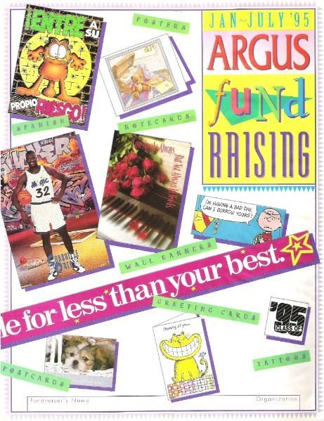 Argus / Fund Raising / January - July 1995 | Catalog (1995)