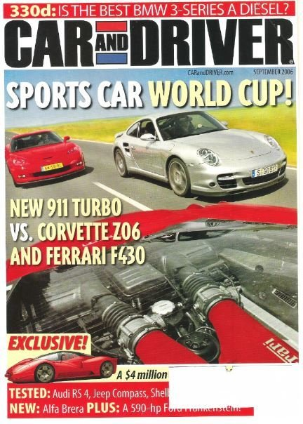Car and Driver / Sports Car World Cup! / September 2006 | Magazine (2006)