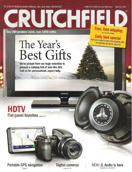 Crutchfield / The Year's Best Gifts / Holiday 2007 | Catalog (2007)