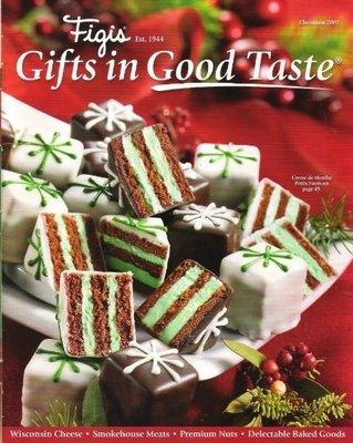 Figi's / Creme de Menthe Petits Fours / Christmas 2007   Catalog (2007)