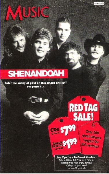 Shenandoah / Music / Selection of the Month | Catalog (1992)