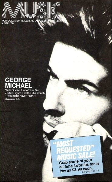 Michael, George / Music (Selection of the Month) / April 1988 | Catalog (1988)