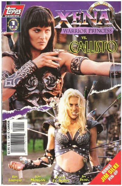 Xena - Warrior Princess vs. Callisto / Hyrdra and Seek / Topps Comics 1 of 3 | Comic Book (1998)
