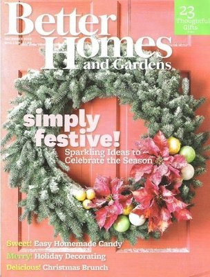 Better Homes and Gardens / Simply Festive! / December 2010   Magazine (2010)