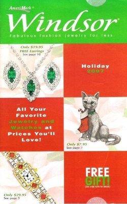 Windsor / Fabulous Fashion Jewelry For Less / Holiday 2007   Catalog (2007)