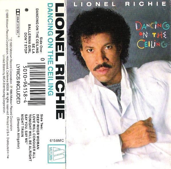 Richie, Lionel / Dancing On the Ceiling / Motown 6158MC | Cassette Insert (1986)