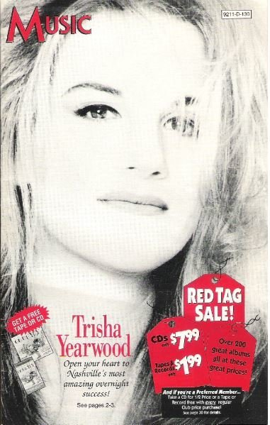 Yearwood, Trisha / Music (Columbia House) | Catalog (1992)