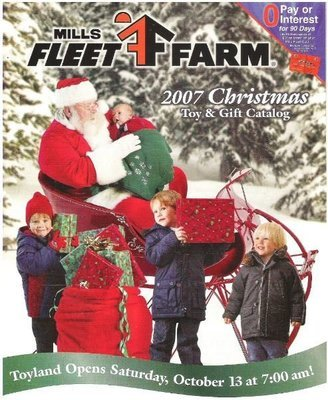 Mills Fleet Farm / Christmas Toy + Gift Catalog | Catalog (2007)