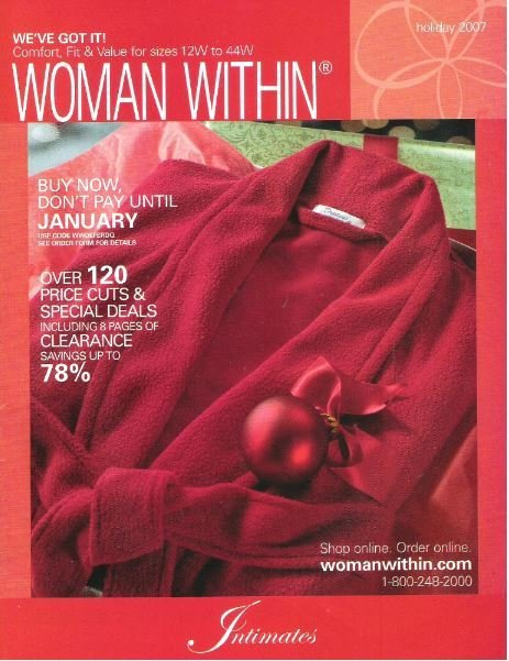 Woman Within / Intimates / Holiday 2007 | Catalog (2007)