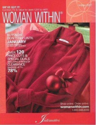 Woman Within / Intimates / Holiday 2007 | Catalog (2007)
