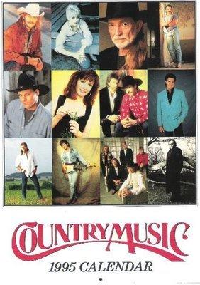 Various Artists / Country Music | Calendar (1995)