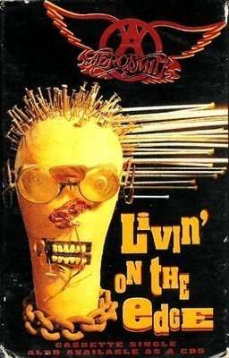 Aerosmith / Livin' On the Edge / Geffen GEFCS-19149 | Cassette Single (1993)