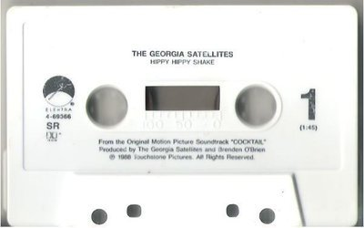 Georgia Satellites, The / Hippy Hippy Shake / Elektra 4-69366 | Cassette Single (1988)