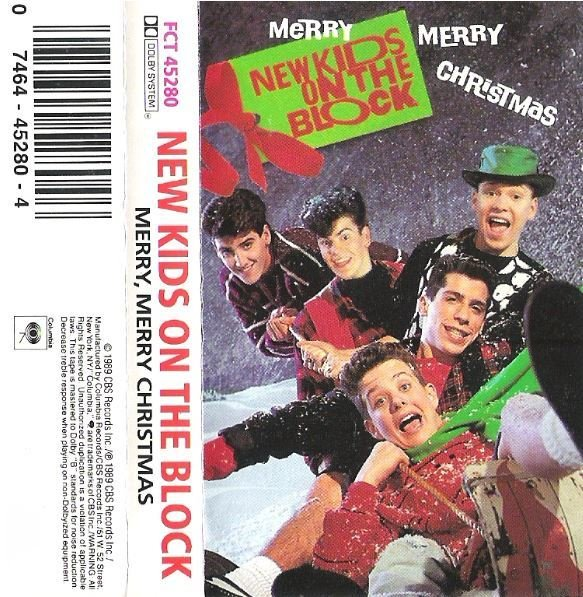 New Kids On the Block / Merry, Merry Christmas / Columbia FCT-45280 | Cassette (1989)