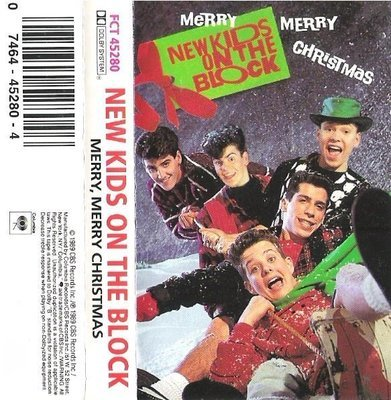New Kids On the Block / Merry, Merry Christmas / Columbia FCT-45280   Cassette (1989)