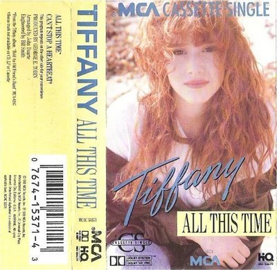 Tiffany / All This Time / MCA MCAC-53371 | Cassette Single (1988)