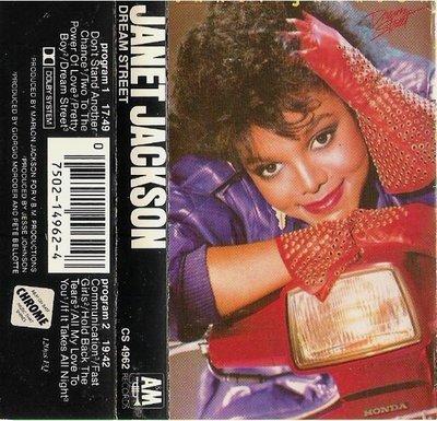 Jackson, Janet / Dream Street / A+M CS-4962 | Cassette (1984)