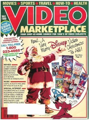 Video Marketplace / Now...A Very Merry Disney Video Christmas to All! / December 1988 | Catalog (1988)