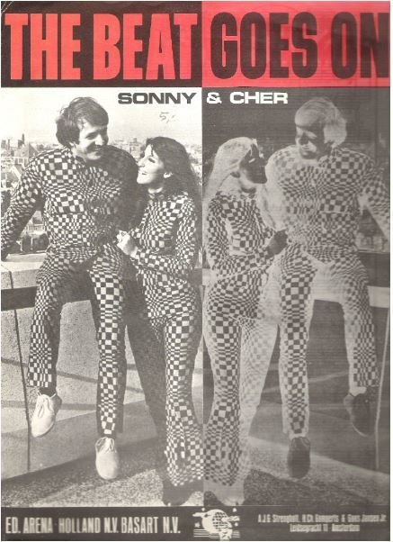 Sonny + Cher / The Beat Goes On / Holland | Sheet Music (1967)