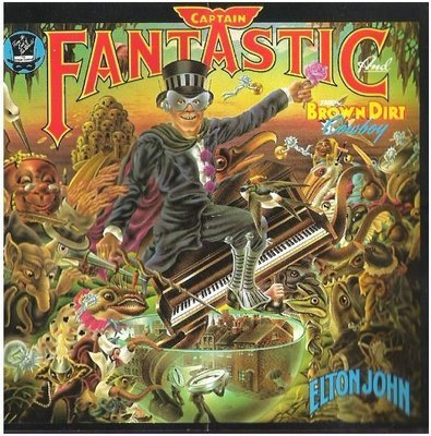 John, Elton / Captain Fantastic and the Brown Dirt Cowboy / MCA MCAD-1613   CD Booklet (1986)