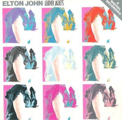 John, Elton / Leather Jackets / Geffen 24114-2   CD Booklet (1986)