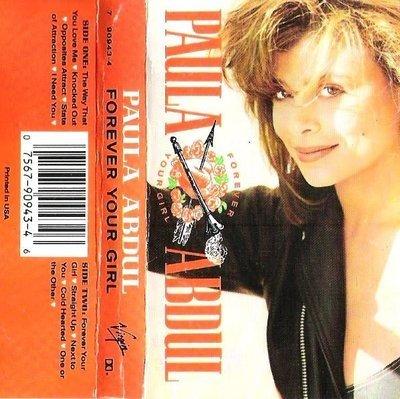 Abdul, Paula / Forever Your Girl / Virgin 90943-4 | Cassette Insert (1988)