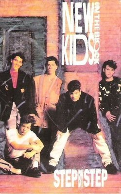New Kids On the Block / Step By Step / Columbia 38T-73343 | Cassette Single (1990)