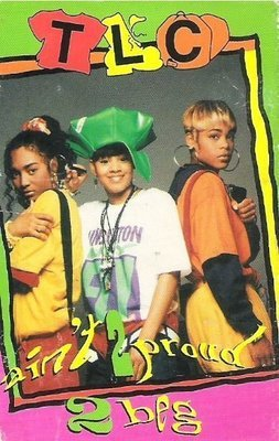 TLC / Ain't 2 Proud 2 Beg / LaFace 24008-4 | Cassette Single (1992)