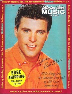 Nelson, Rick / Collectors' Choice Music / November 2000 | Catalog (2000)
