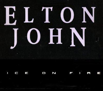 John, Elton / Ice On Fire / Geffen | Album Flat (1985)
