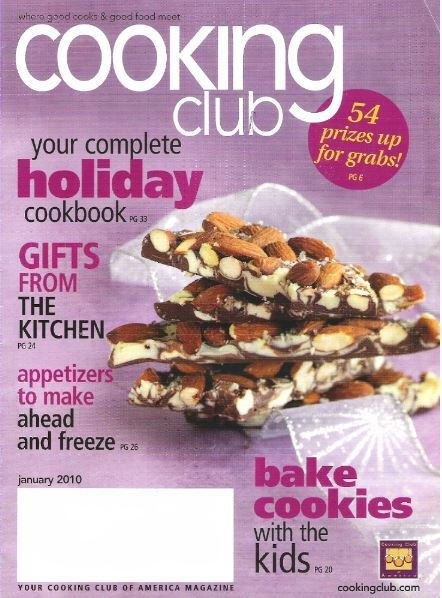 Cooking Club / Your Complete Holiday Cookbook / January 2010 | Magazine (2010)