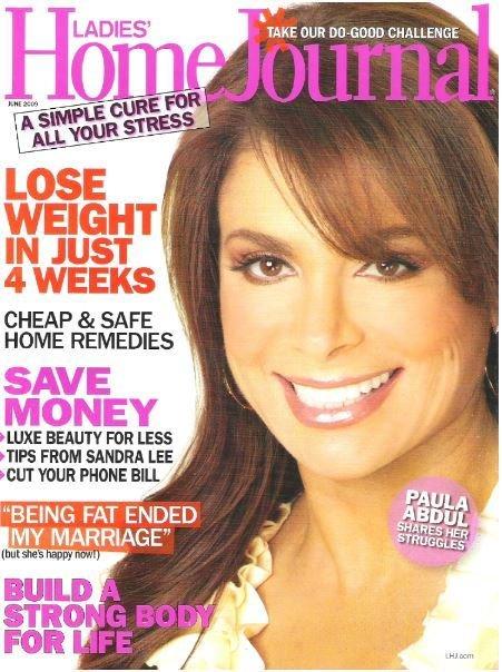 Abdul, Paula / Ladies' Home Journal | June 2009 | Magazine