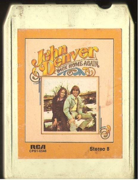 Denver, John / Back Home Again / RCA CPS1-0548 | 8-Track Tape (1974)