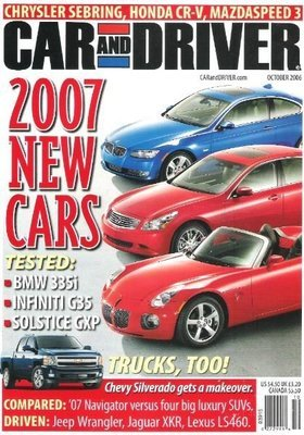 Car and Driver / 2007 New Cars / October | Magazine (2006)