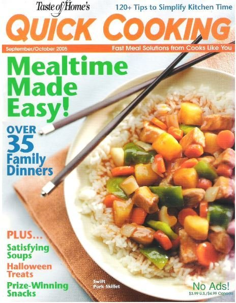 Quick Cooking / Mealtime Made Easy! / September - October | Magazine (2005)